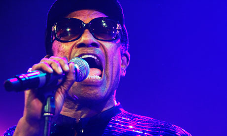 Bobby Womack performs at the Hague jazz festival