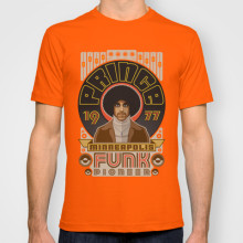 "T-Shirt ""PRINCE 1977-Minneapolis Funk Pioneer"""