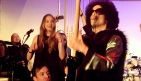 Prince+JimmyFallon+Haim+SNL+Afterparty