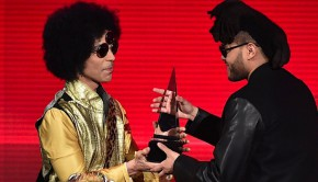 Prince+TheWeeknd+AmericanMusicAwards