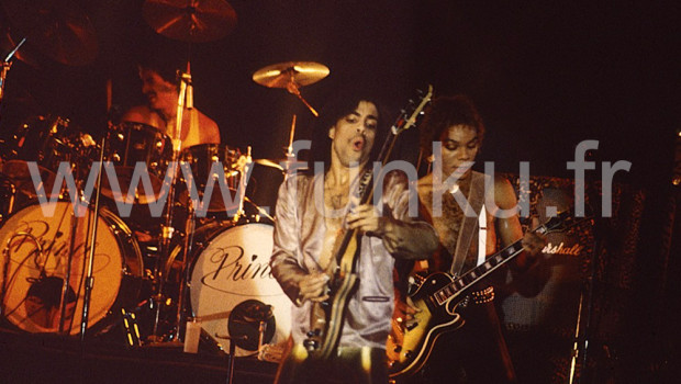 Prince live in Houston 1979