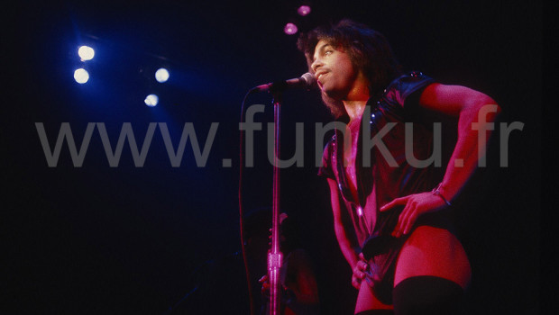 Prince Live in Houston 1980