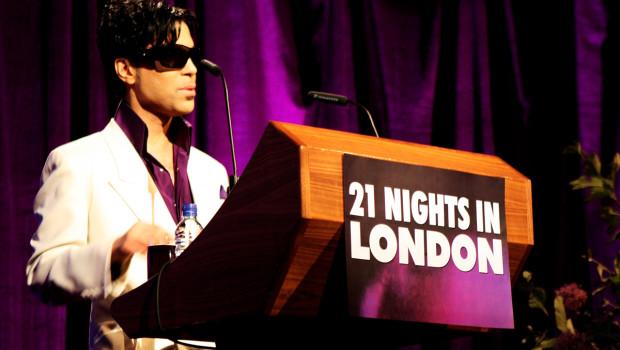 Prince Announces His UK Shows In London